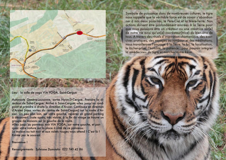 Stage Le Tigre 2012