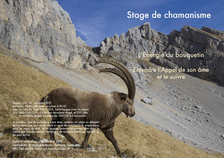 Stage le Bouquetin 2013